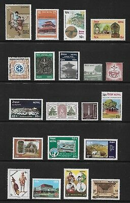 NEPAL mixed collection No.13, mint MNH MUH