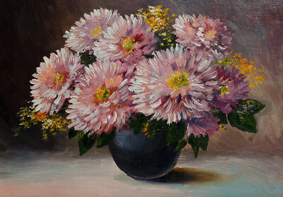 painting flower High Quality wall Art poster Choose your Size