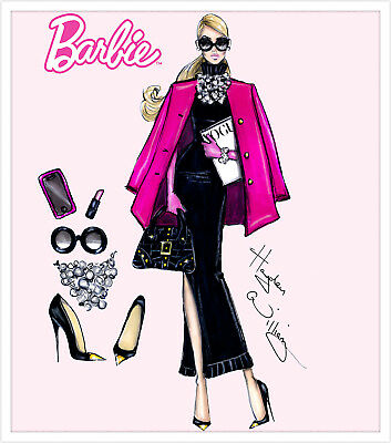 Barbie Fashion  High Quality wall Art poster Choose your Size