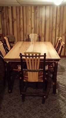 Vintage Primitive Rustic Table set new