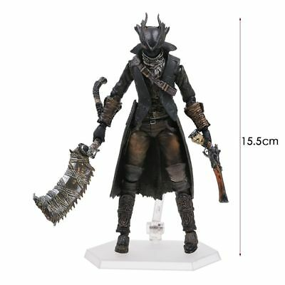 Figma 367 Bloodborne Hunter Action Figure 1/6 Toy Gift 15cm New in Box