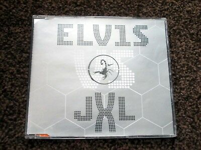 Elvis (Presley) Vs Jxl, A Little Less Conversation, Rare Cd Single - 3 Tracks.