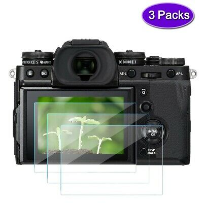 2X Fujifilm X-T3 xt3 TouchScreen Protector Foils Tempered Glass Film x-t3 x-t2