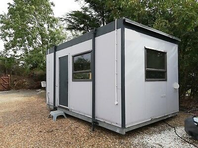 Portacabin Portable Site Office Building Good Condition 16x8 full electrics