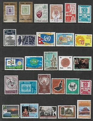NEPAL mixed collection No.12, mint & used