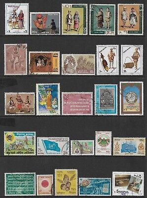 NEPAL mixed collection No.10, mint & used