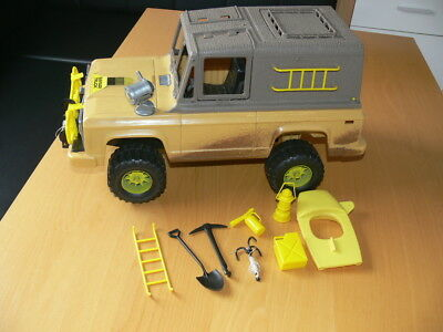 BIG JIM Mattel Safari Jeep Dschungel 70er Jahre