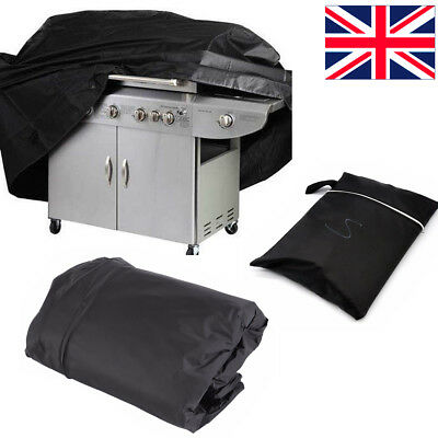 145CM 170CM BBQ Cover Heavy Duty Waterproof Gas Barbecue Grill Outdoor Protector
