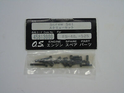 45813000 Genuine OS Engines Screw Set For: FS-48 -52S New In Packet