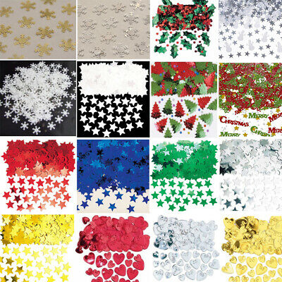 XMAS CONFETTI - Metallic Table Christmas Confetti Sprinkles - Buy 3 get 1 Free