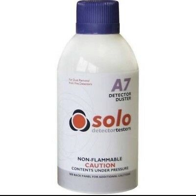 NEW SOLO A7 SMOKE DETECTOR DUSTER - 250ml