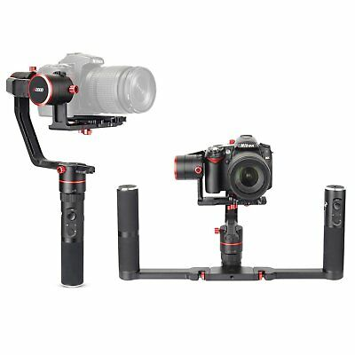 Feiyu Tech A2000 3 Axis Gimbal Handheld Stabilizer for Mirrorless DSLR Camera CA
