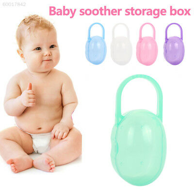 E500 Cases Storage Infant'S Pacifier Box Portable PU 5 Colors Gifts Kids