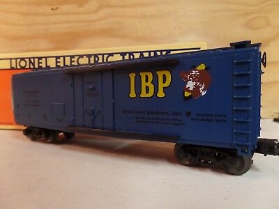 Lionel Train 1995 Lcca Convention Iowa Beef Packers Railroad Reefer Car 6-52074