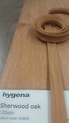 Laminate flooring Flexible wood effect scotia/beading ( Patent granted ). 62..c