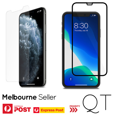 GENUINE Tempered Glass Screen Protector for Apple iPhone 11 Pro Max XS XR X 20D