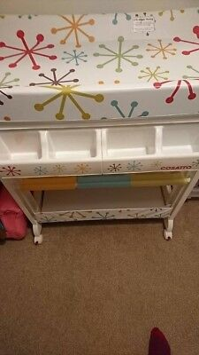 Cossatto Changing unit. Never really used apart from storing nappies.