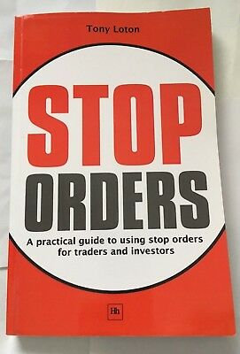 Stop Orders by Tony Loton paperback