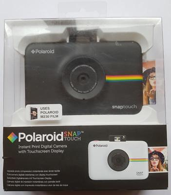 Brand New Black Polaroid Snap Touch Instant Print Digital Camera