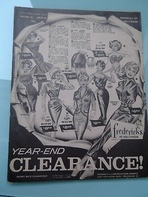 Frederick's of Hollywood catalogue - Year-end clearance. Vol 16 Issue 65. 1962