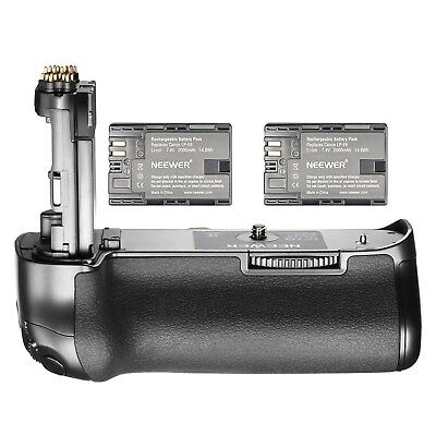 Neewer NW-5D Mark IV Replacement Canon BG-E20 Battery Grip with 2 Pack Rechargea