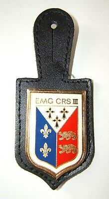 INSIGNE EMG C.R.S. III - Delsart - OBSOLETE POUR COLLECTION