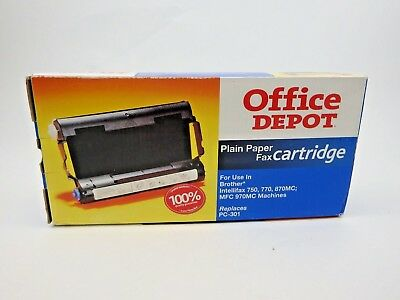 Brother Intellifax Plain Paper Fax Cartridge by Office Depot (See Models) NIB