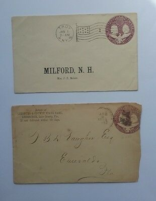US 1890's 2c covers