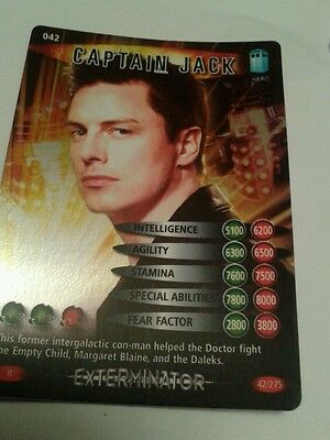 WITH WHIP DR WHO DEVASTATOR CARD 1025 KESS