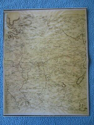 "Civil War Map -  ""Route of March for the U.S. Army of the Potomac to Gettysburg"""