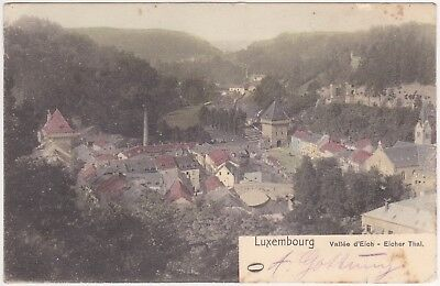 Luxembourg, Lëtzebuerg - Luxemburg (Stadt) - with stamp 1904