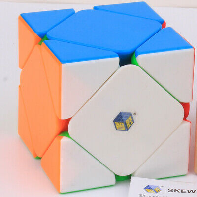 YuXin Little magic 3X3x3 Skewb Magic Cube Skew Corner Twist Puzzle Toys for kids