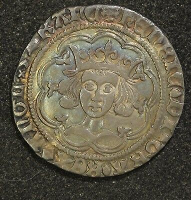 Henry VI 1422-61 Groat Mascle Issue Calais Mint 1430-31 North 1461 Super Toning