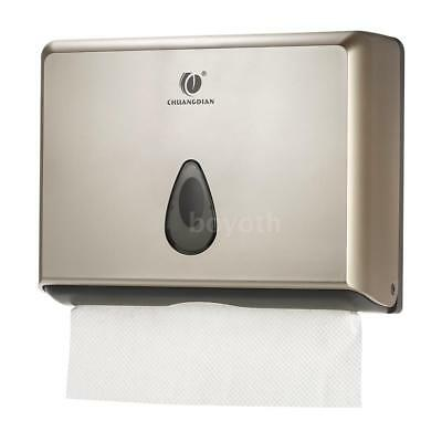 Bathroom Tissue Dispenser Tissue Box Holder For Multifold Paper Towels Hot M4W9