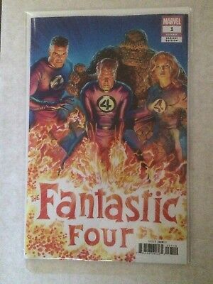 Fantastic Four #1 Alex Ross 1:50 Variant NM