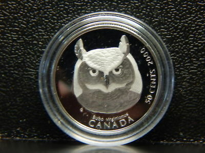 "Owl Coin  ""Bubo"" 50 Cent Canada Mint Condition.............................RC427"