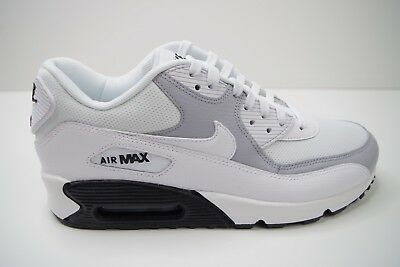 info for 8acb6 f44ef WMNS NIKE AIR MAX 90 WHITE   WOLF GREY size UK 7.5 EUR 42 US 10