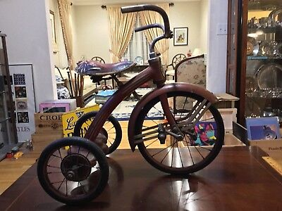 Rare Antique/vintage All Original Taylor Tricycle In Great Condition