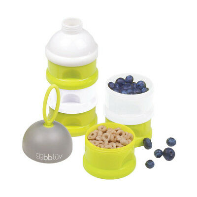 Bbluv Dose multipurpose stackable Containers for Snacks NIB