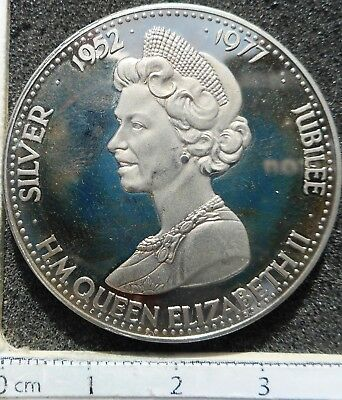 UK - Silver Jubilee Medal 1977 (nice condition)   ... (9504)