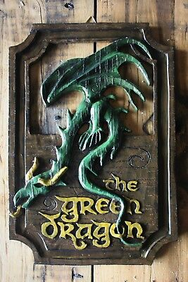 Lord of the Rings 'The Green Dragon' pub sign