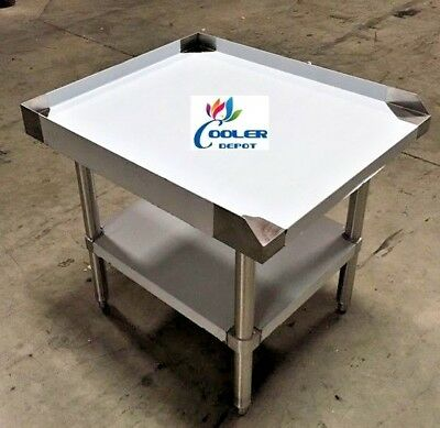 """NEW 24"""" x 28"""" Stainless Steel Prep Table Commercial Kitchen Equipment Stand NSF"""