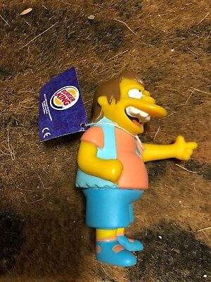 The Simpsons Burger King toy 2001: Nelson with original tag