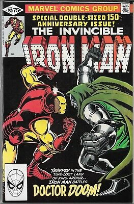 The Invincible Iron Man #150 (Fn/vf) Double-Sized, Vs. Dr. Doom, Bronze Age