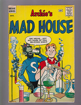 ARCHIE'S MADHOUSE #15 -- October 1961 -- F+