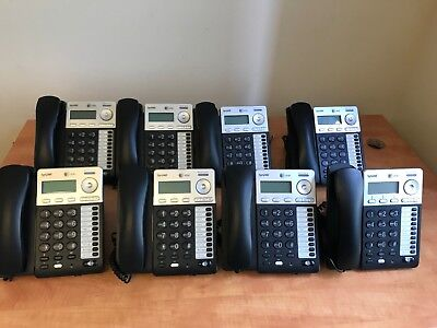 AT&T® Syn248 SB35025 Corded Deskset Phone System, For Use with SB 650530026195
