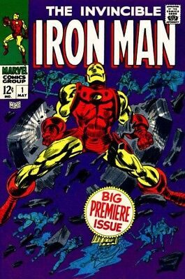 Us Comics Iron Man Collection Of 450+ Superhero Comics On Dvd