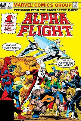 Us Comics Alpha Flight Vol 1 Complete Digital Collection