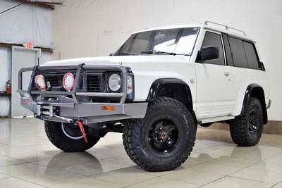 1990 Nissan Other LIFTED 4X4 NISSAN PATROL TURBO DIESEL 5SPD MANUAL LEFT HAND DRIVE LIFTED HARD TO FIND