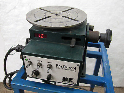 "MK Products: 10"" Diameter Positurn 4 Welding Positioner / Turntable"